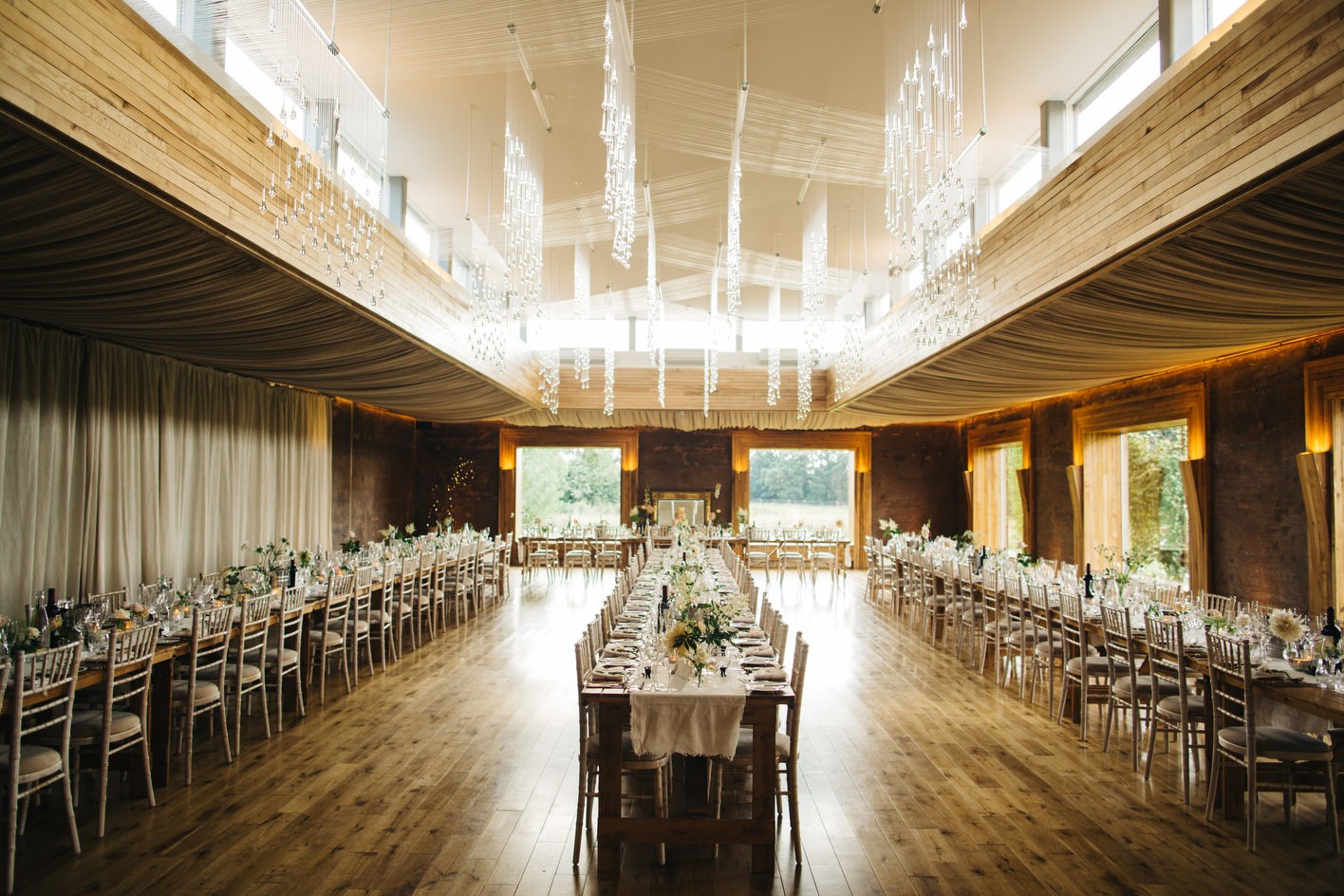 cotswolds wedding reception room