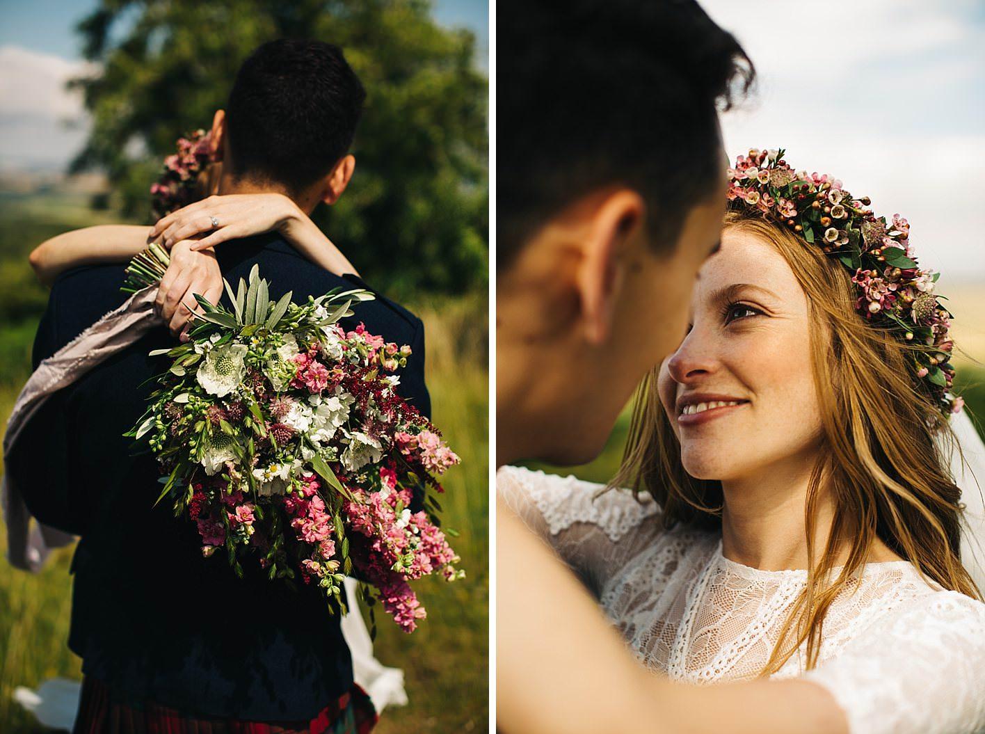 West Dorset Wedding Flowers bouquet