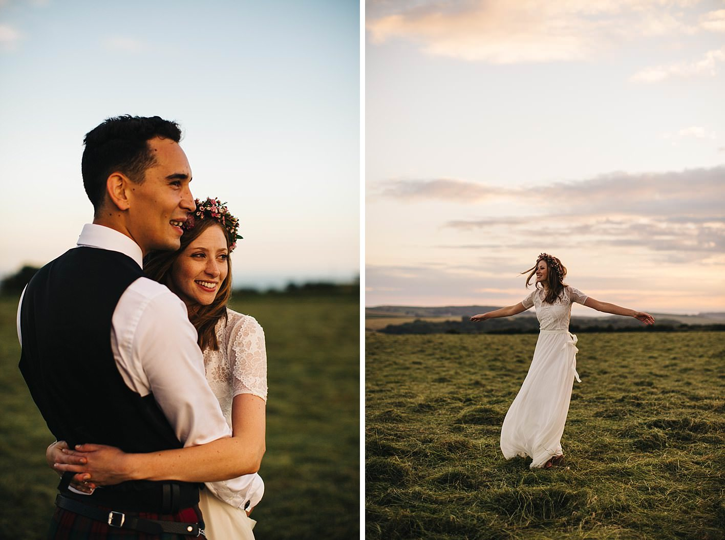 Rustic Wedding Gorwell Barn Grace Loves Lace 094
