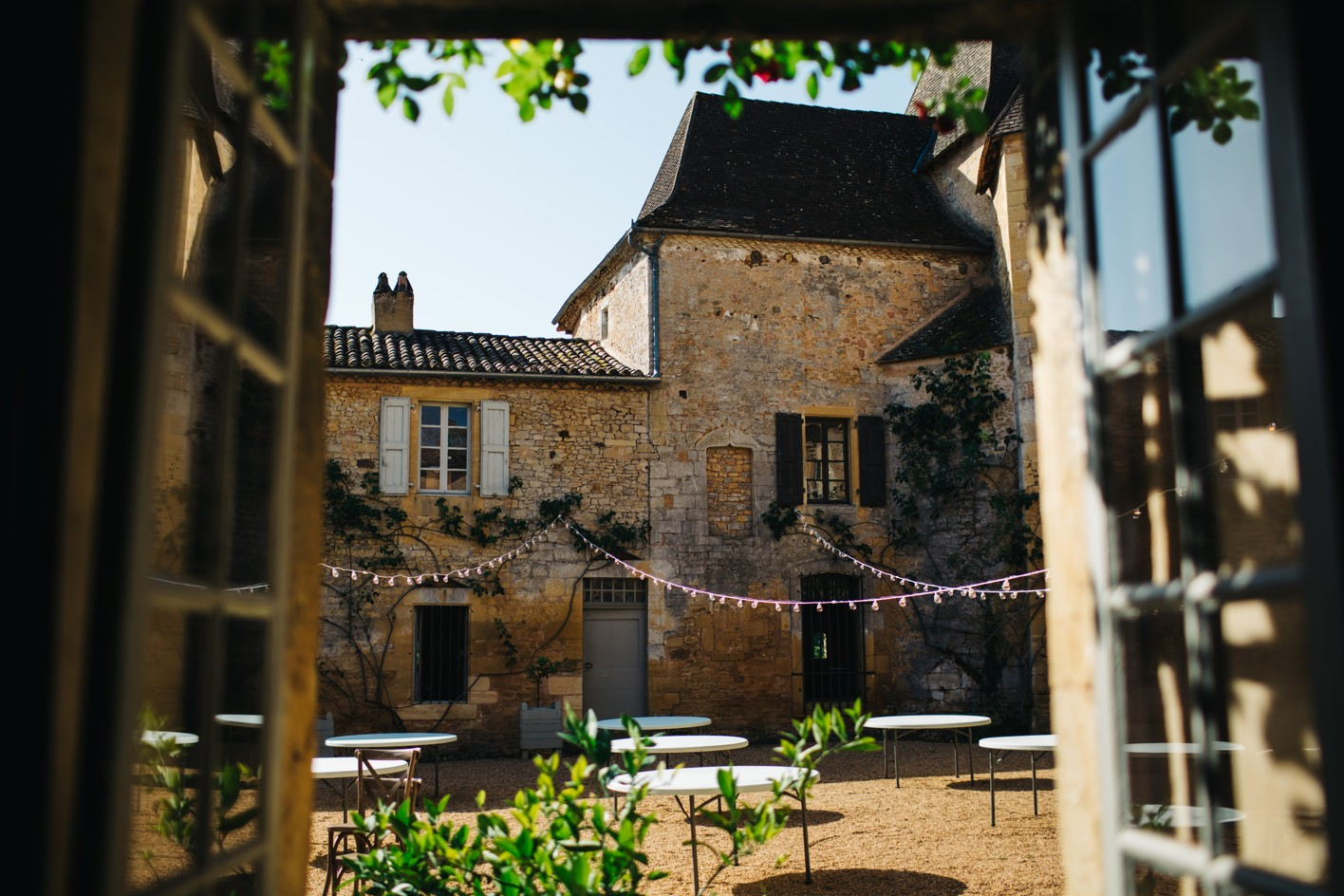 french wedding chateau de la bourlie dordogne 005