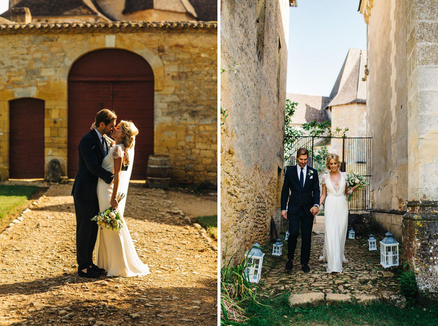 french wedding chateau de la bourlie dordogne 068