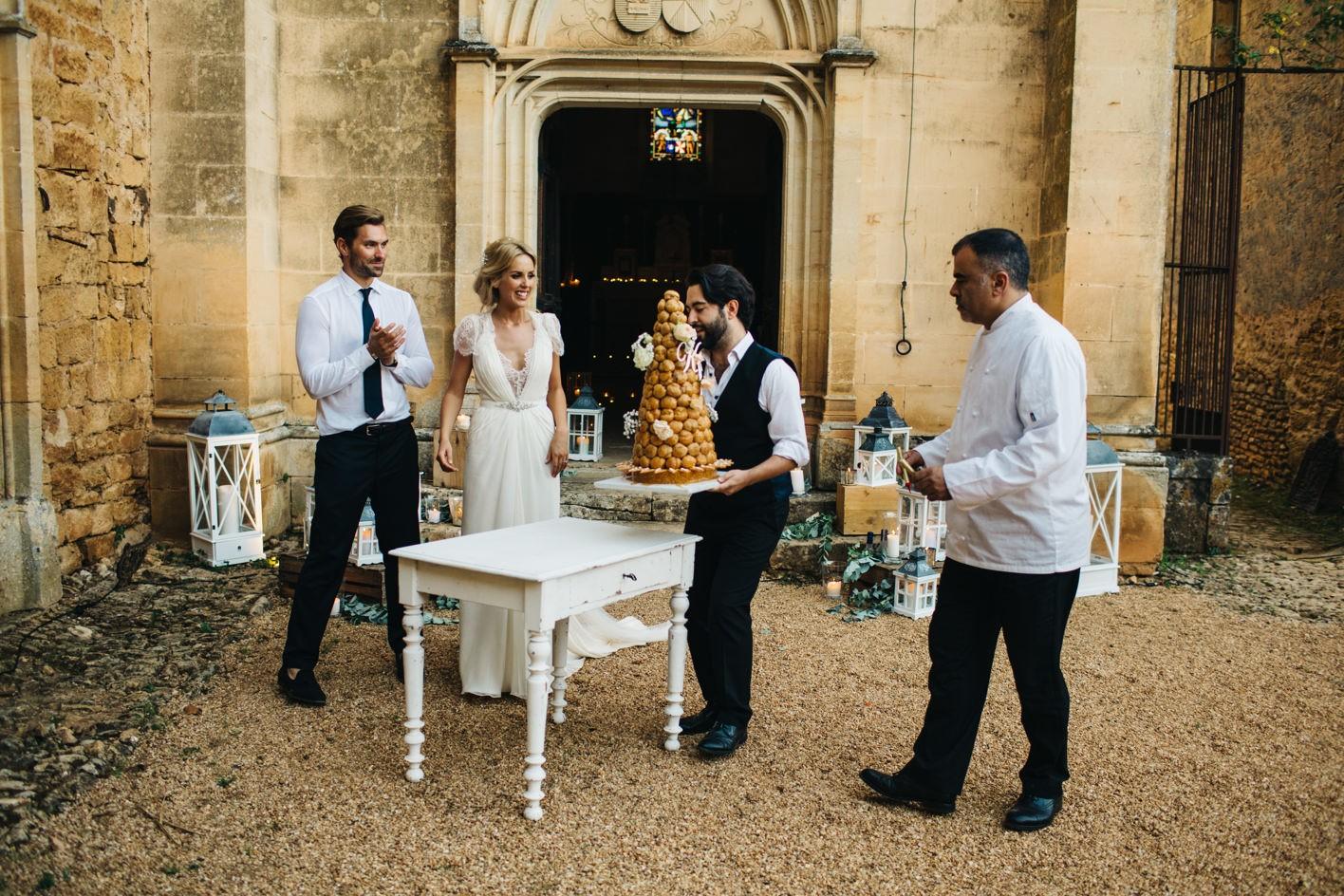 french wedding chateau de la bourlie dordogne 103