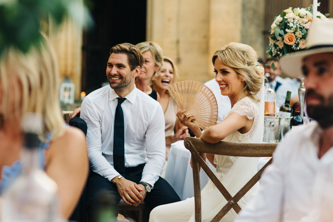 french wedding chateau de la bourlie dordogne 106