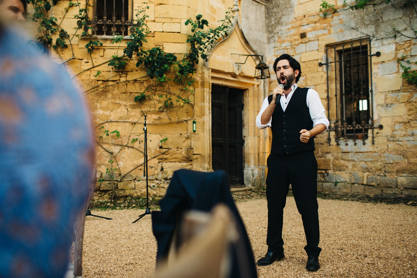singing wedding tenors