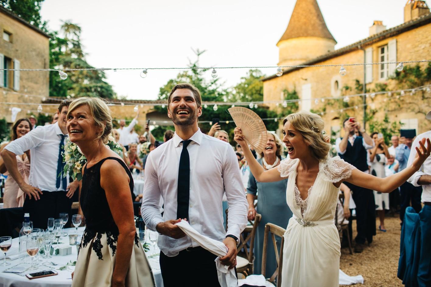 french wedding chateau de la bourlie dordogne 116