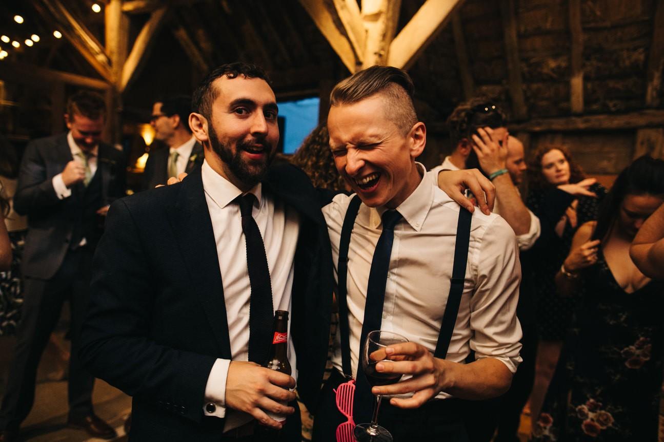 Hampshire Barn wedding in ibthorpe 115