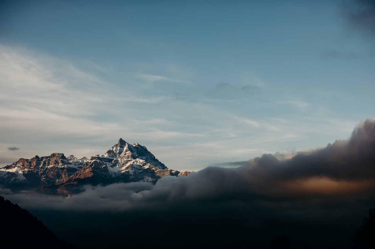 L'Argentine mountain in vaud alps
