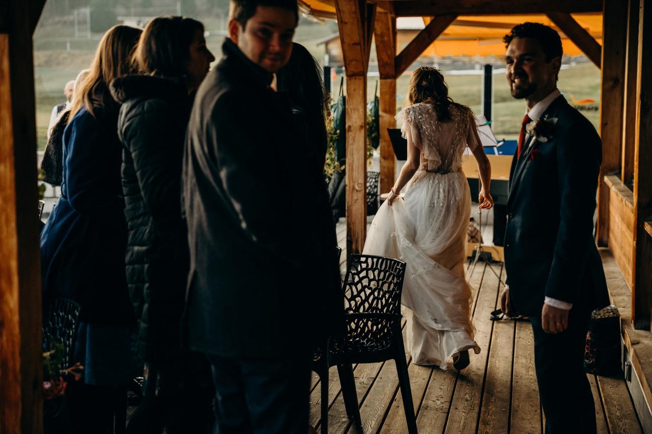 Ti Adora wedding dress back