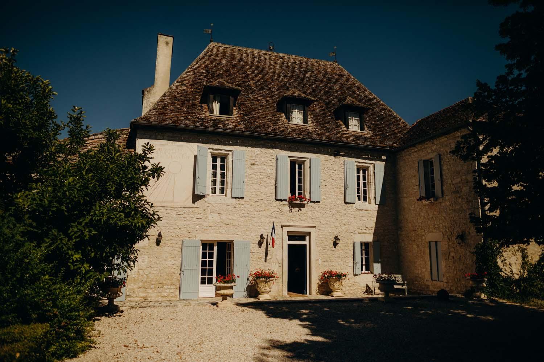 Le Manoir Du Bout Du Pont Agnac Wedding France 004