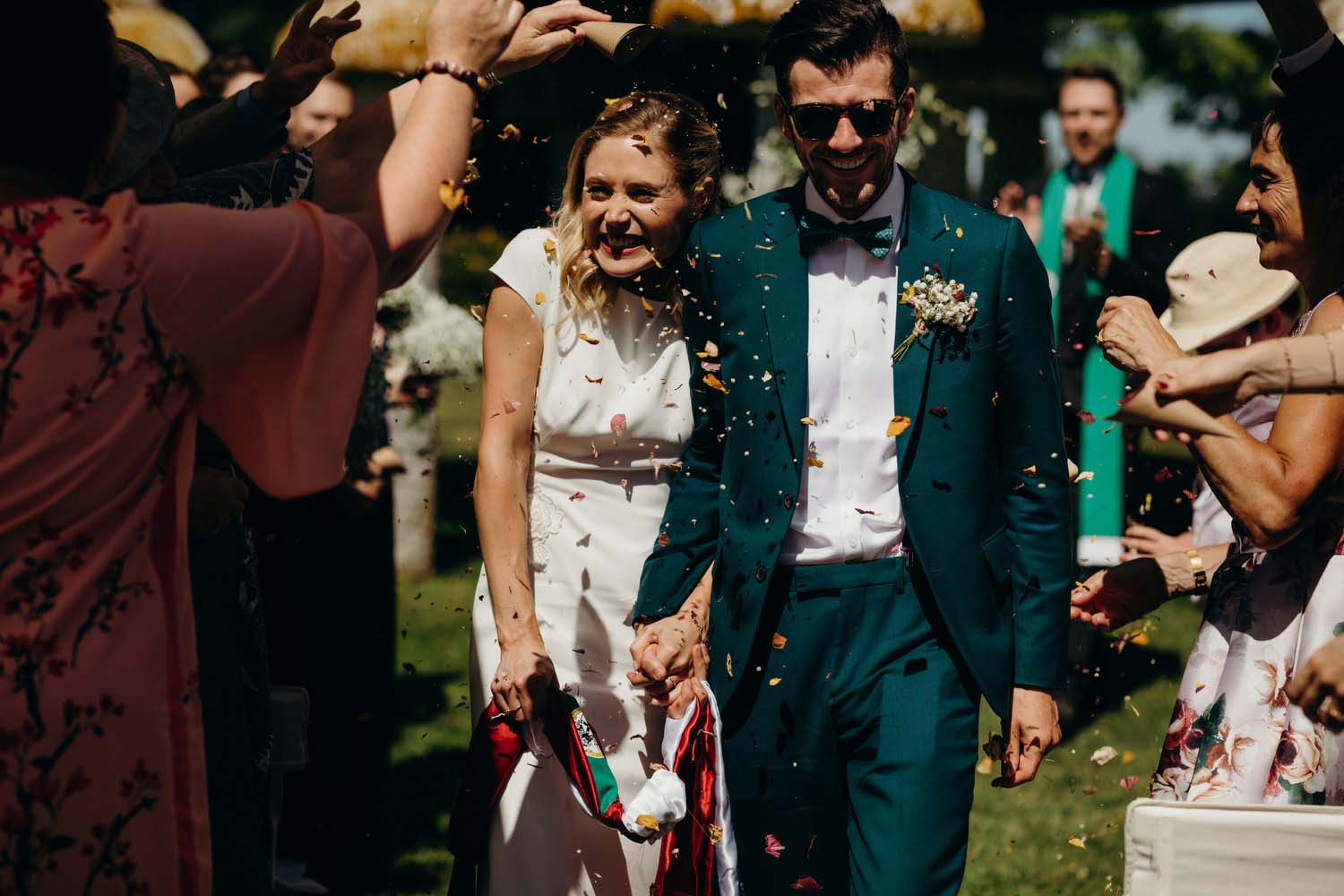 South of France wedding ceremony
