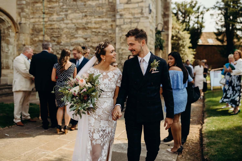 Church wedding in Buckinghamshire