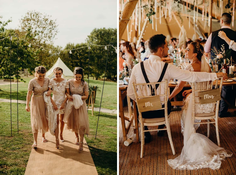 furtho manor farm tipi wedding