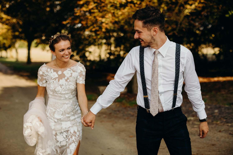 furtho manor farm wedding portraits