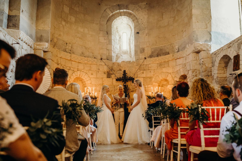 same sex wedding in the Dordogne