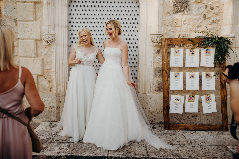 Sassi Holford wedding dresses