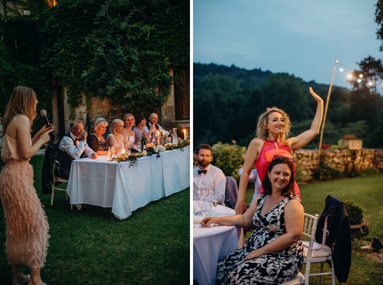 wedding speech games at french wedding