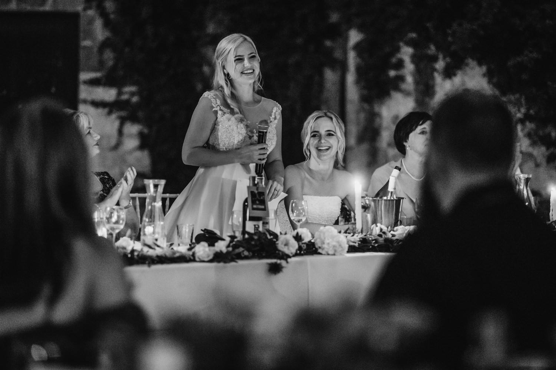 bride starting speech
