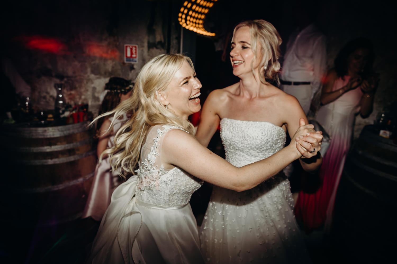 brides dance at wedding party