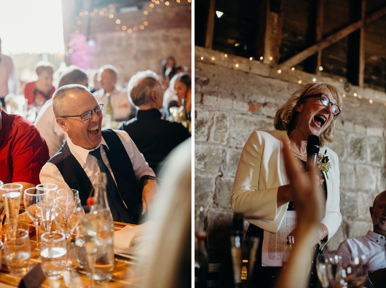 wedding speeches at wick bottom barn