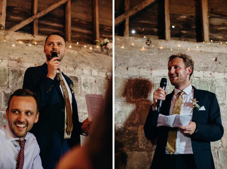 best men do wedding speech