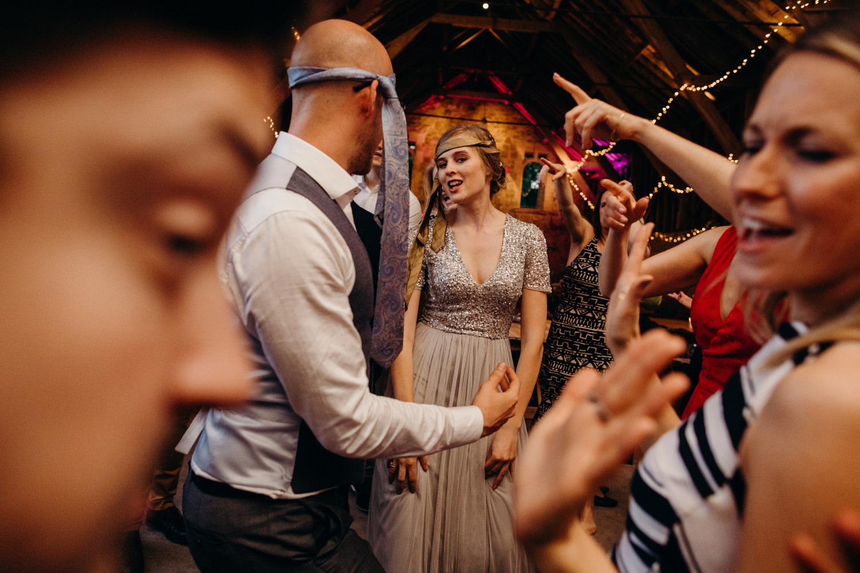wedding dancefloor chaos