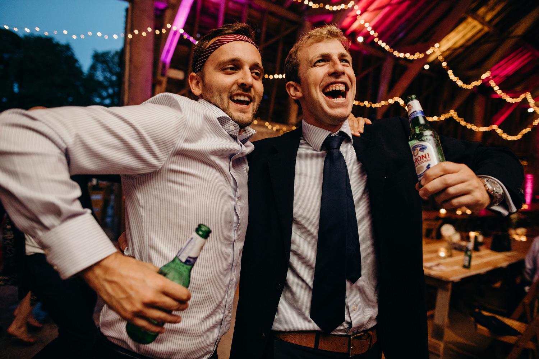 wick bottom barn wedding dancefloor