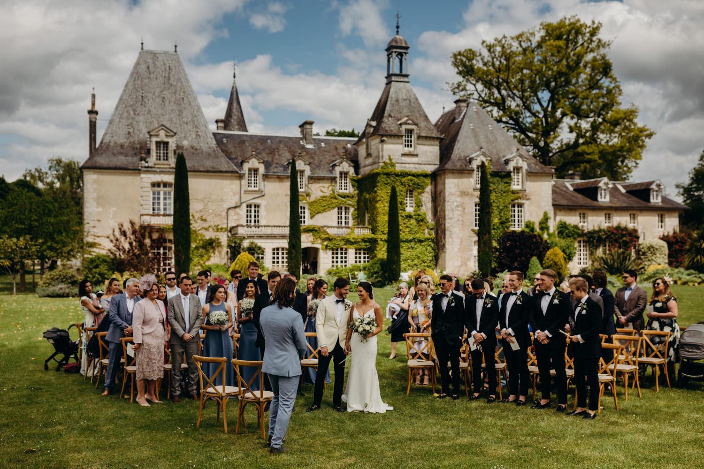 le mas de montet wedding ceremony