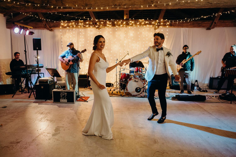 first dance at le mas de montet