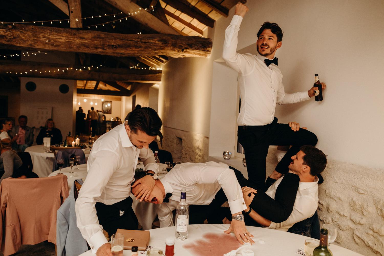 wedding dancefloor craziness