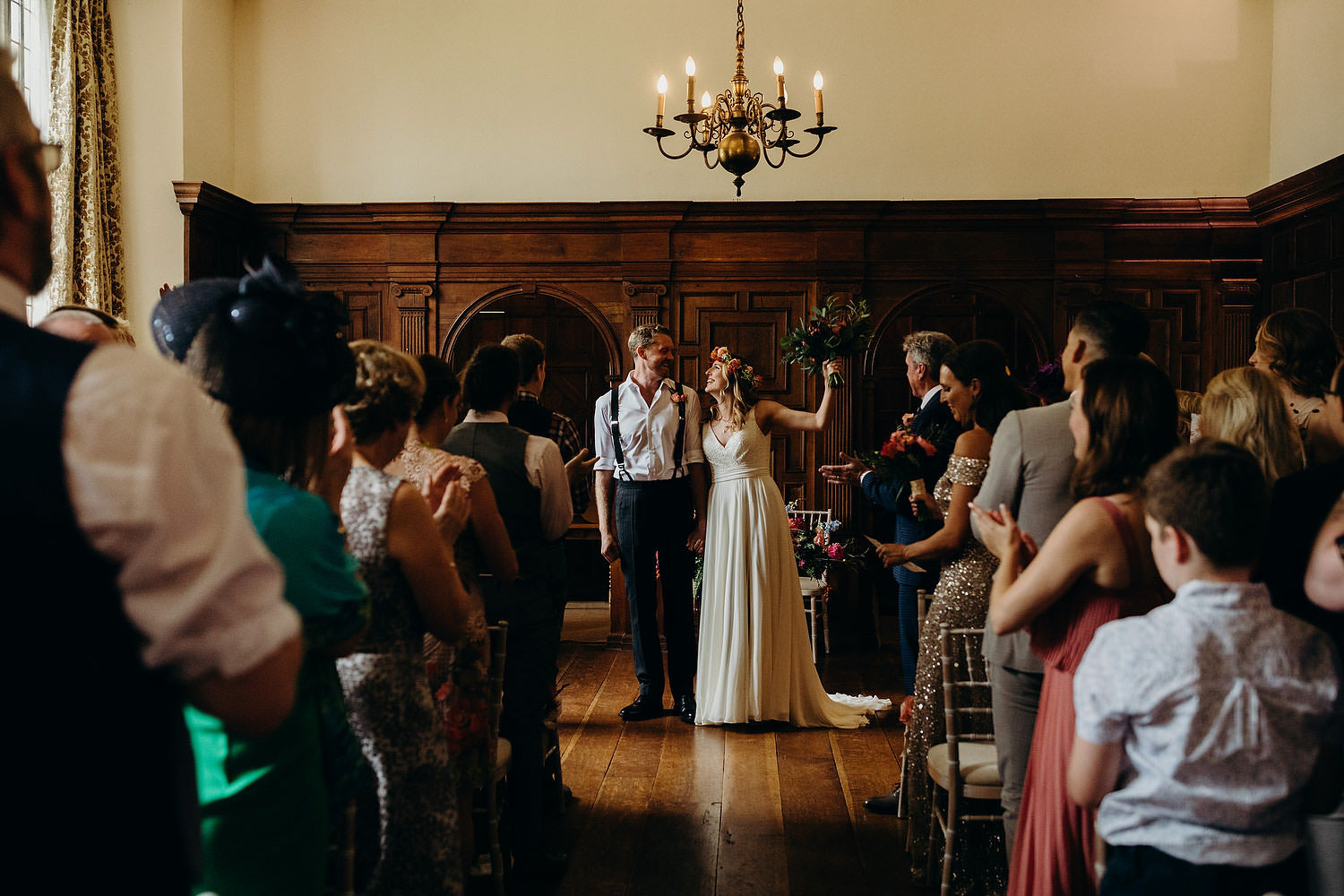 Ceremony at Somerset country house