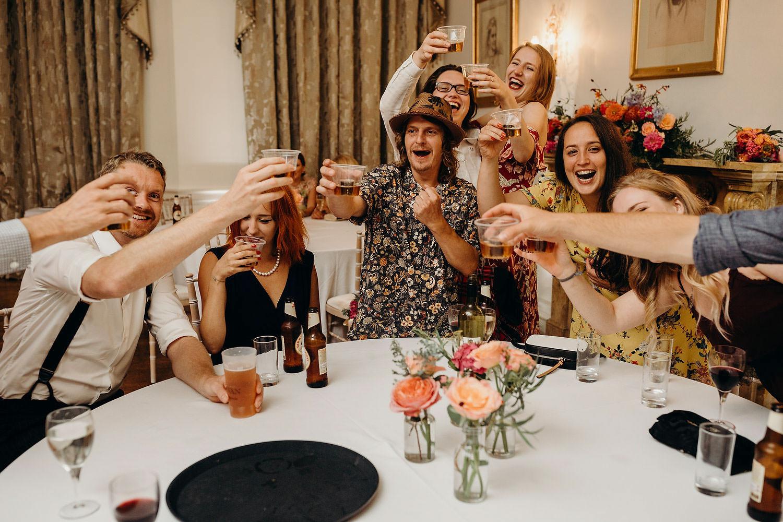 shots at wedding