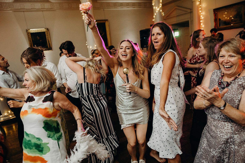 happy bride at north cadbury court