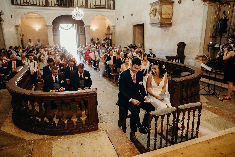 Igreja de São Silvestre wedding ceremony
