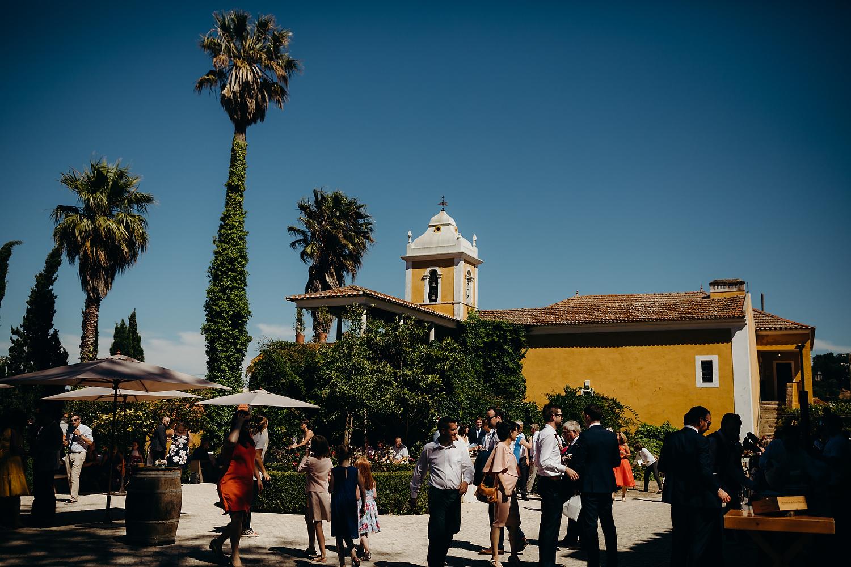 Quinta de Sant'Ana courtyard