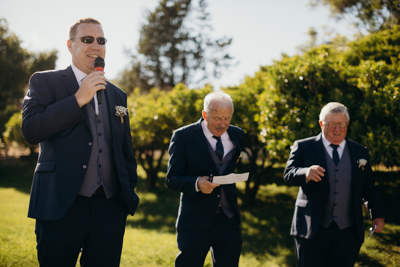 mc for wedding announces speeches