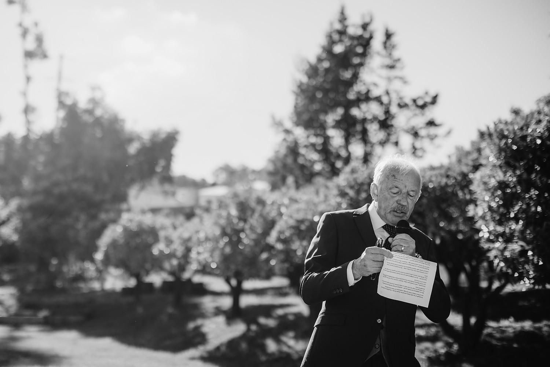 father of bride speech on vineyard
