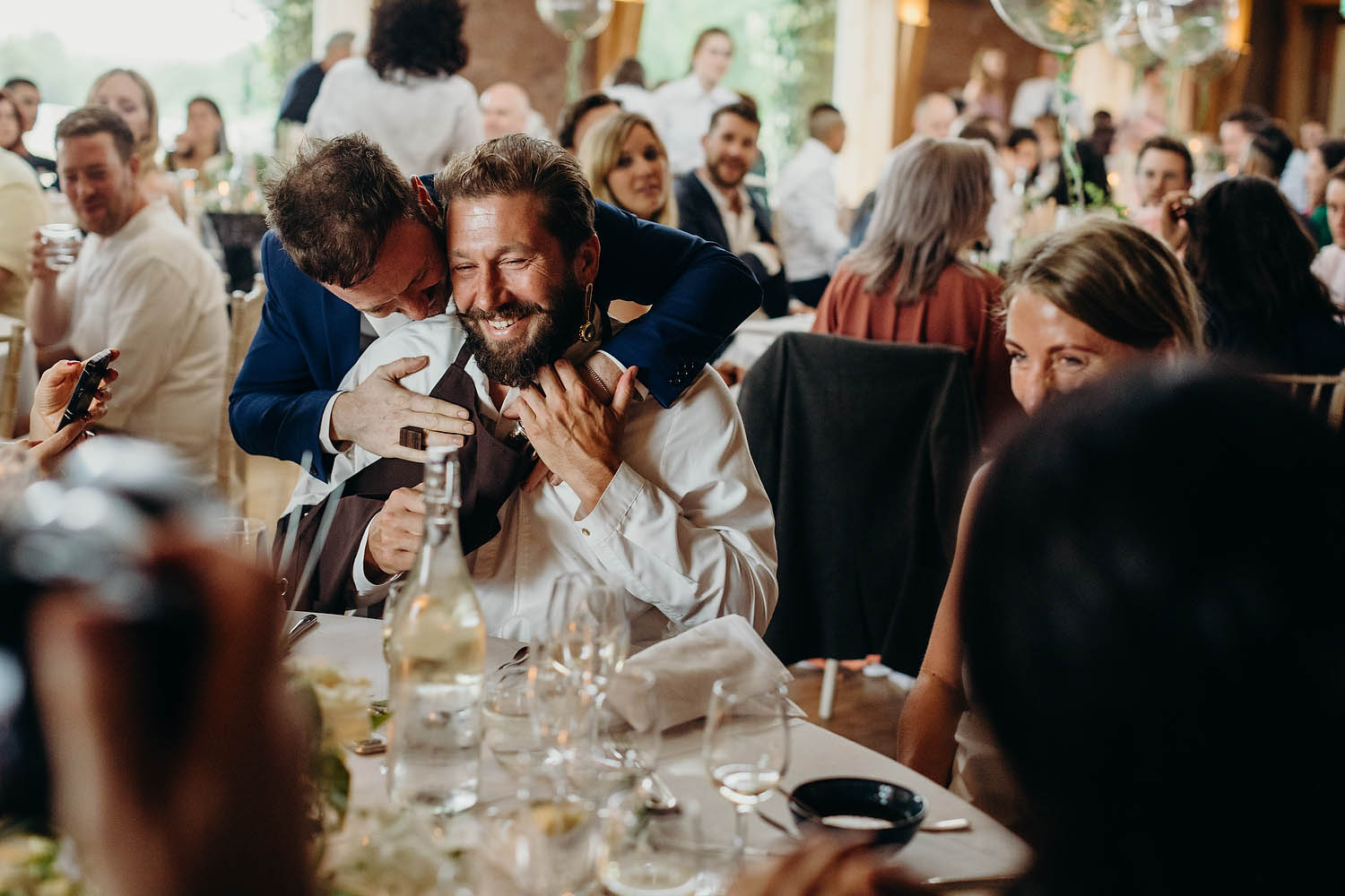 groom picking table chefs
