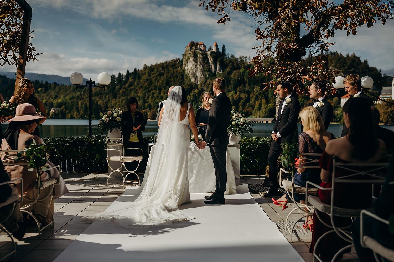 Lake Wedding in Slovenia