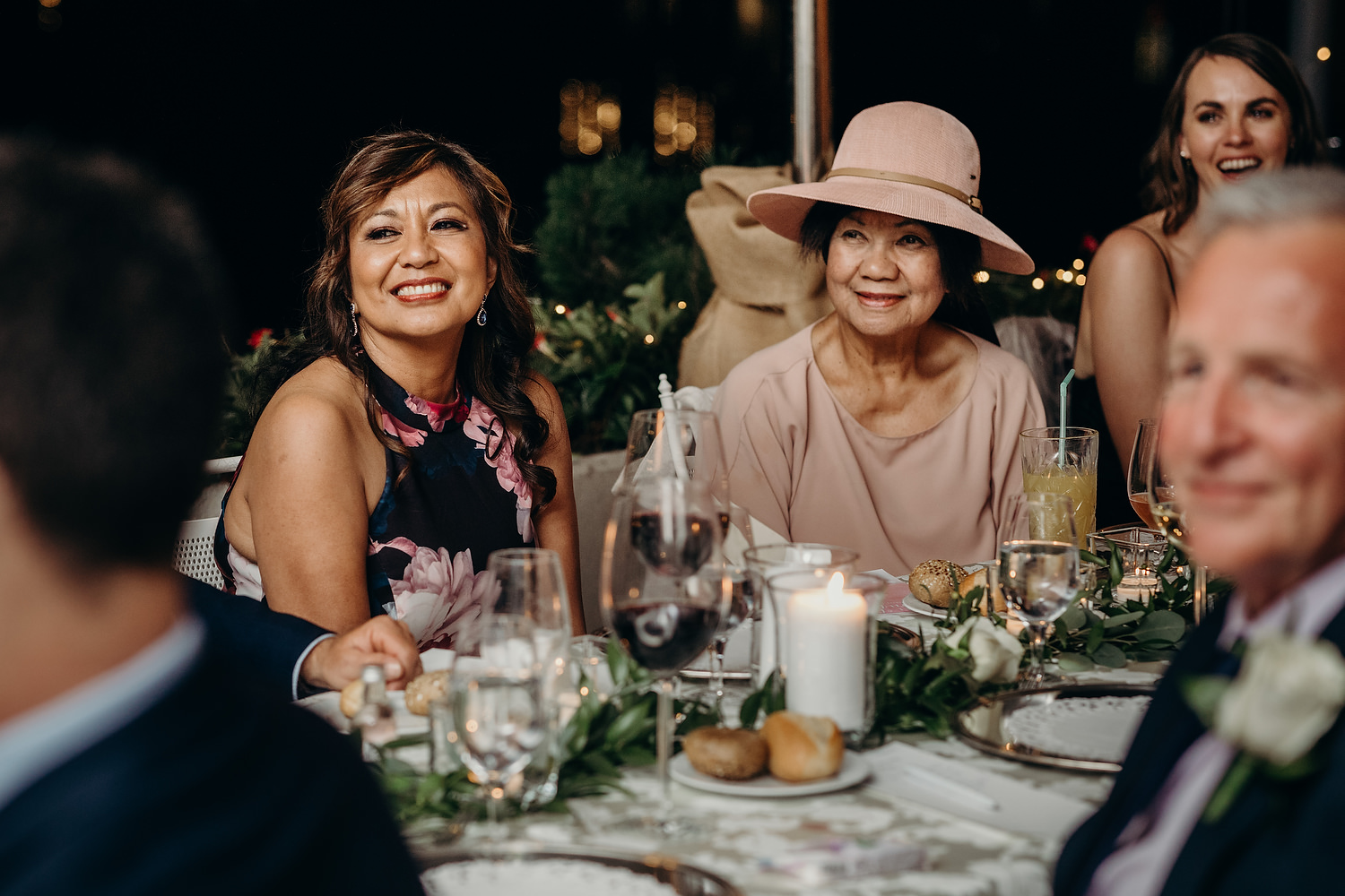 mother of bride and grandmother