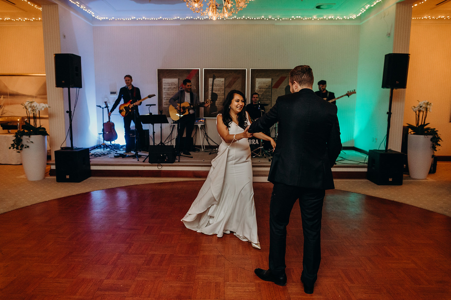 first dance at Grand Toplice Hotel