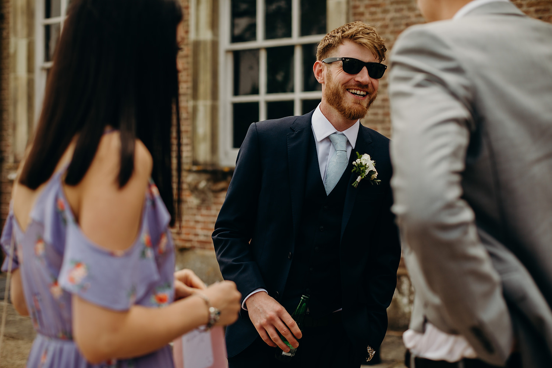 St Giles House Wedding Wimborne Dorset 028