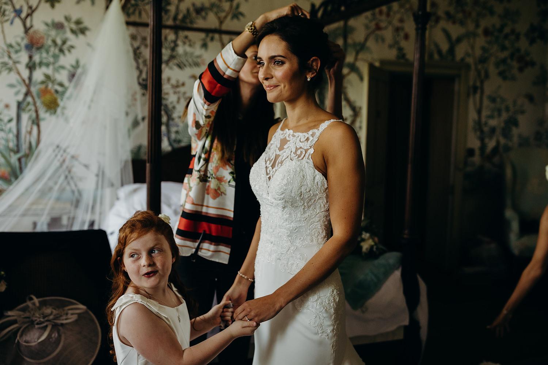 St Giles House Wedding Wimborne Dorset 040