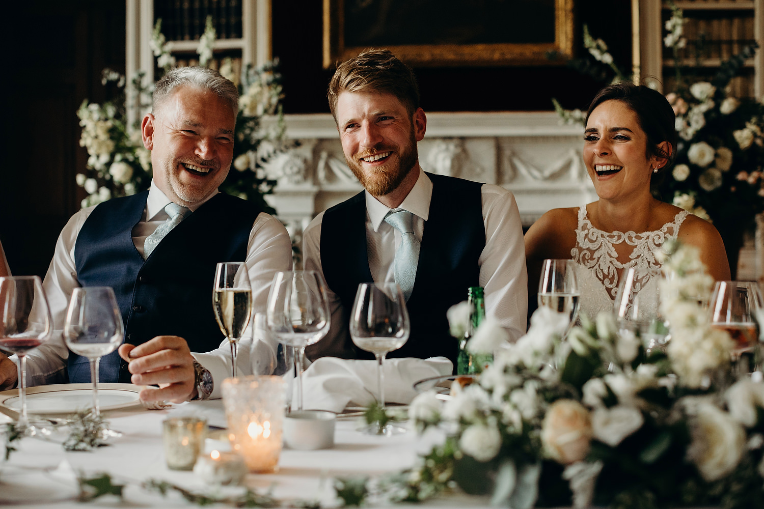 wedding speeches at St Giles House