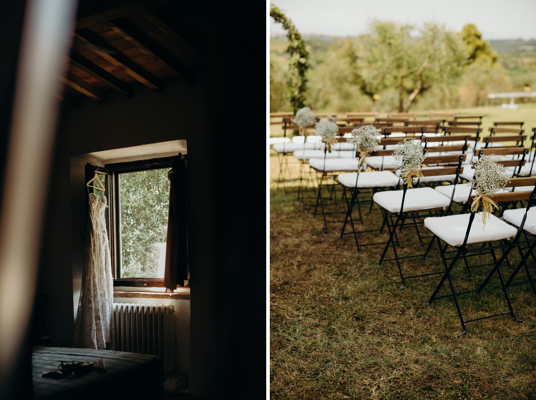 Outdoor Tuscany Wedding near Florence