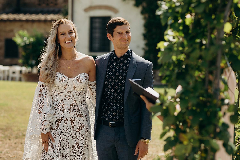 Tuscan Villa Wedding Fattoria La Loggia 034