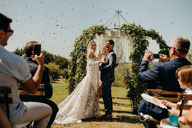 Tuscan Villa Wedding Ceremony