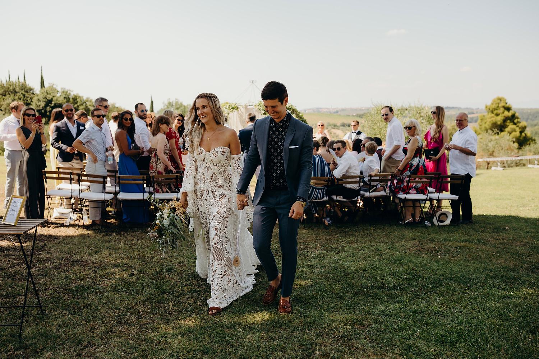 Tuscan Villa Wedding Fattoria La Loggia 041