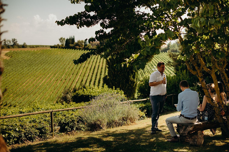 Tuscan Villa Wedding Fattoria La Loggia 049