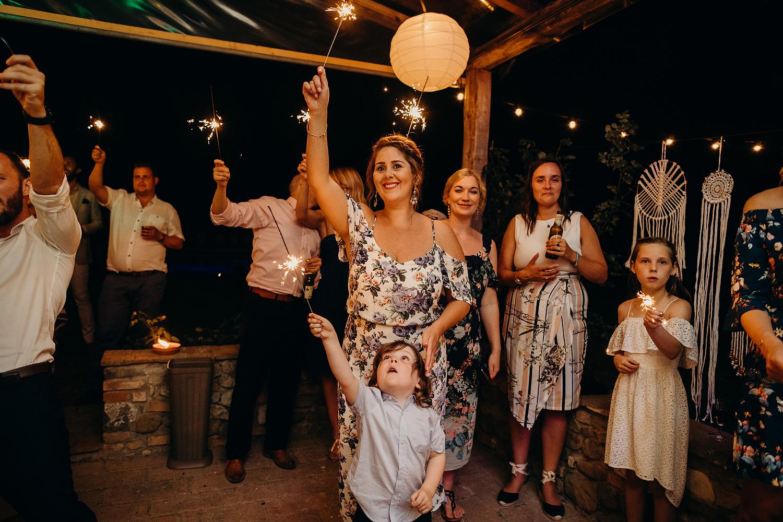 Tuscan Villa Wedding Fattoria La Loggia 109