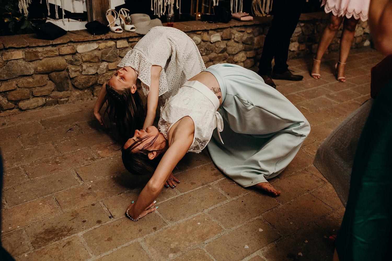 dance floor antics